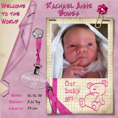 Rachael Anne Bowes