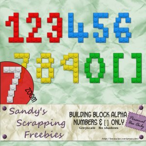 building block numerals preview